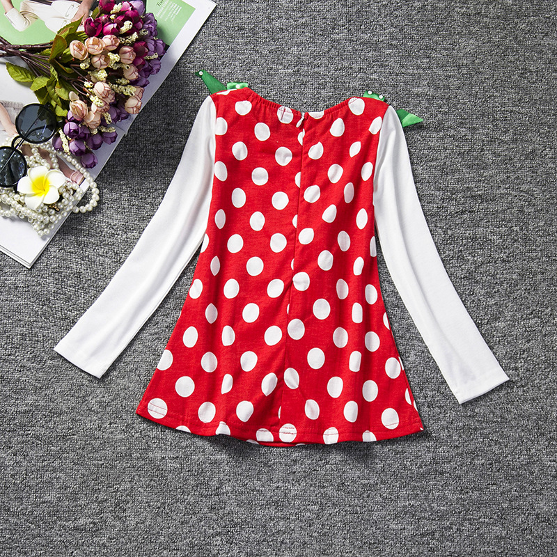 F68120-1 princess cartoon children  s dress